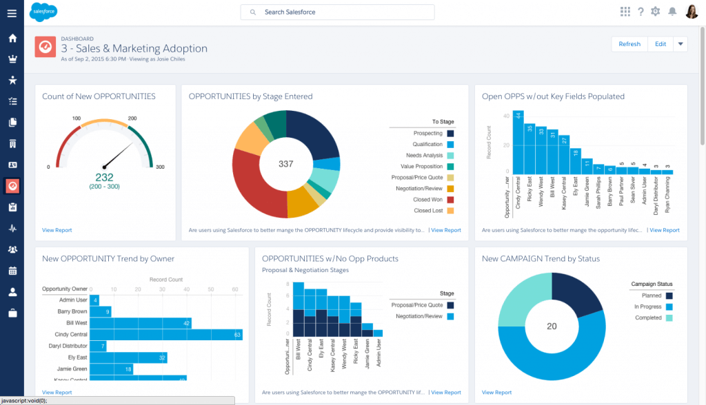 appexchange salesforce app