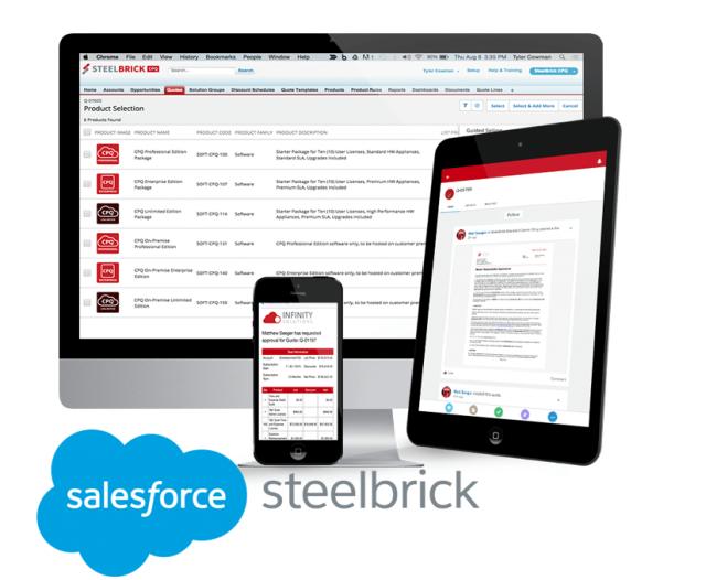 salesforce steelbrick sales cloud inspark